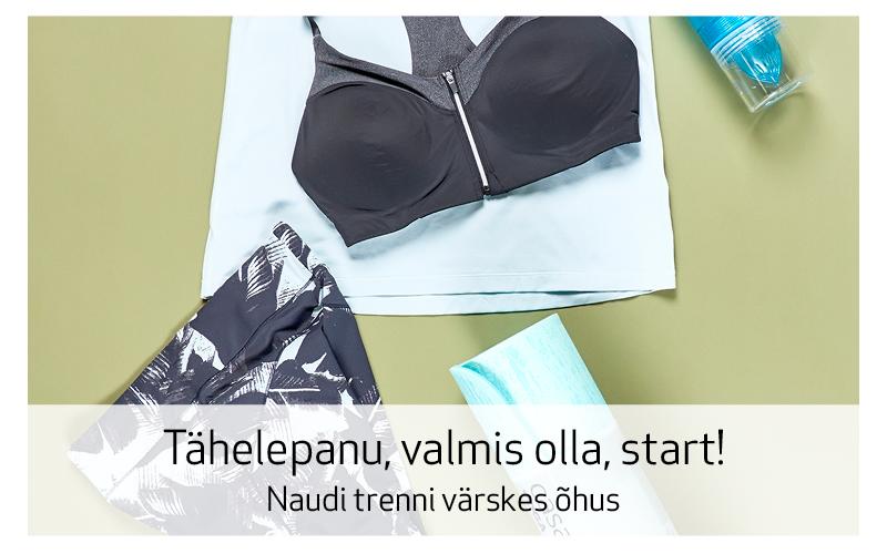 TÄHELEPANU, VALMIS OLLA, START!